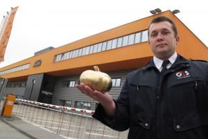 Der goldene Kürbis ist sicher angekommen in Mattighofen // The golden Pumpkin has arrived safely in Mattighofen.