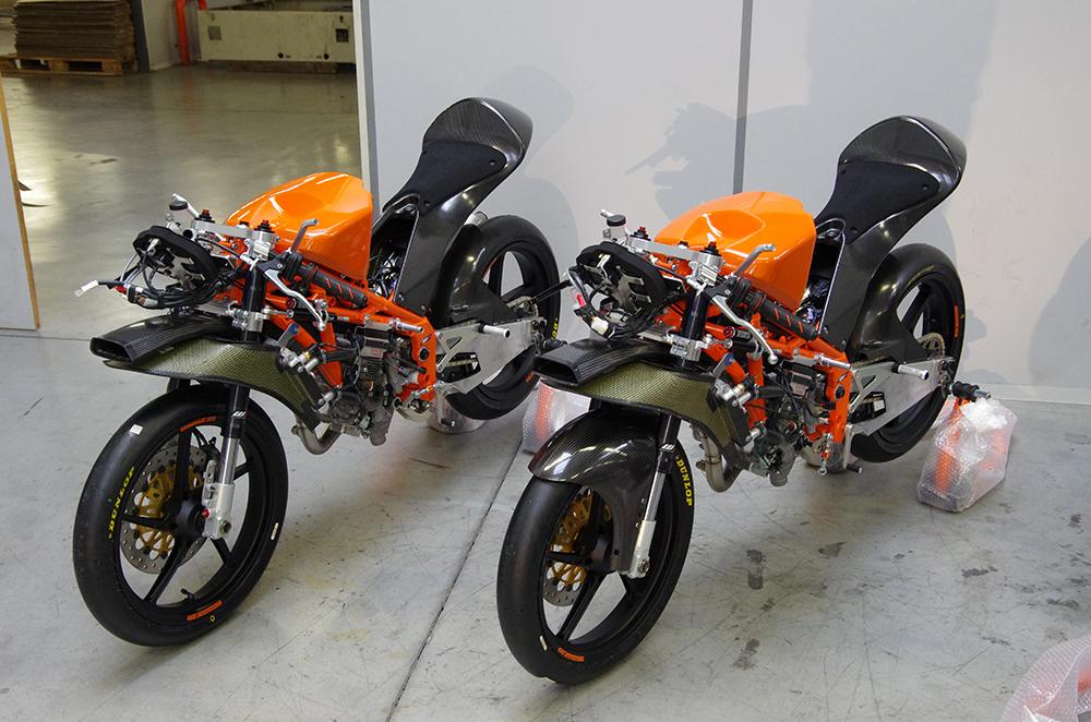 building a moto3 bike - ktm blog