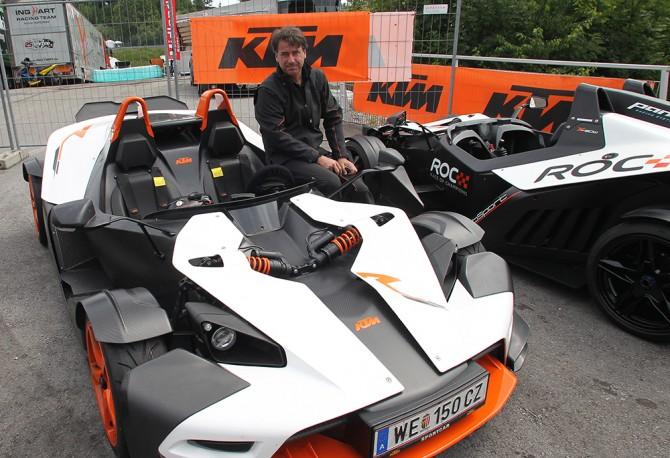 Stefan Pierer, KTM X-Bow.
