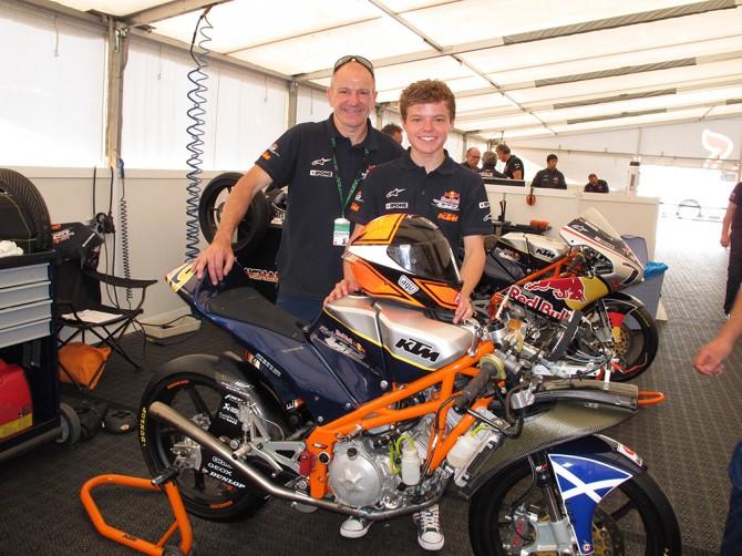 Niall & Tarran Mackenzie, Red Bull Rookies KTM RC250R