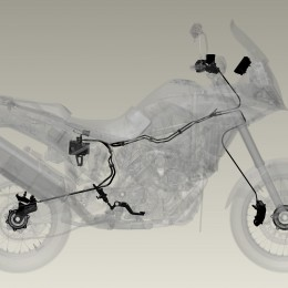 Kompakt und leicht: Die MSC-Hardware-Komponenten lassen sich bestens in das Bike integrieren.
