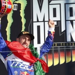 MX1 class Champion again, Tony Cairoli