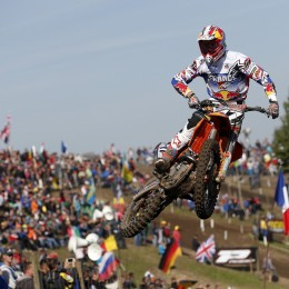 MX2 world championship runner-up Jordi Tixier