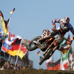 Jordi Tixier riding for Team France