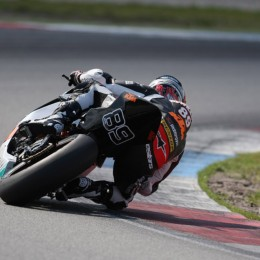 McWilliams: »Auf der Rennstrecke bin ich Rennfahrer«. // »On the track, I ride like a racer.«