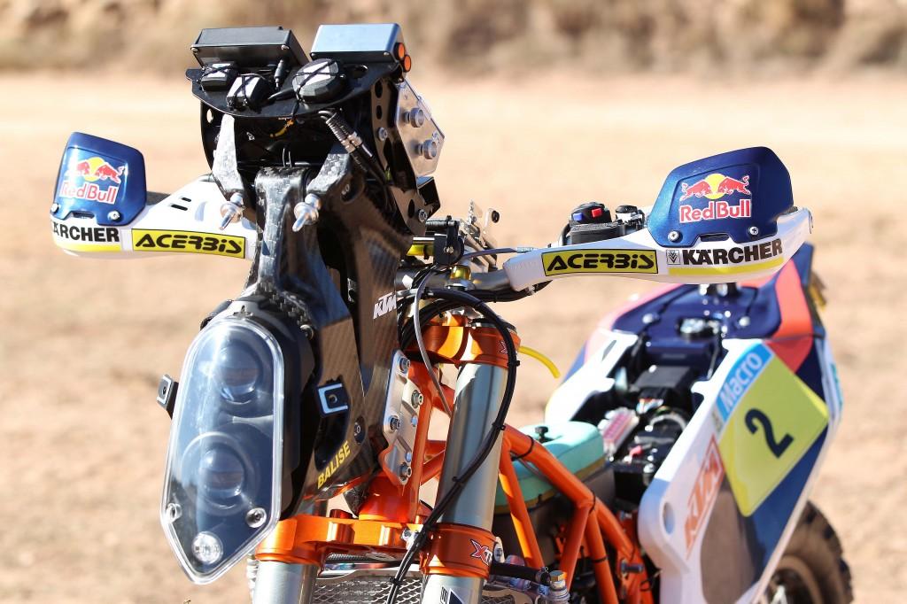 Ktm Dakar Bike Specs