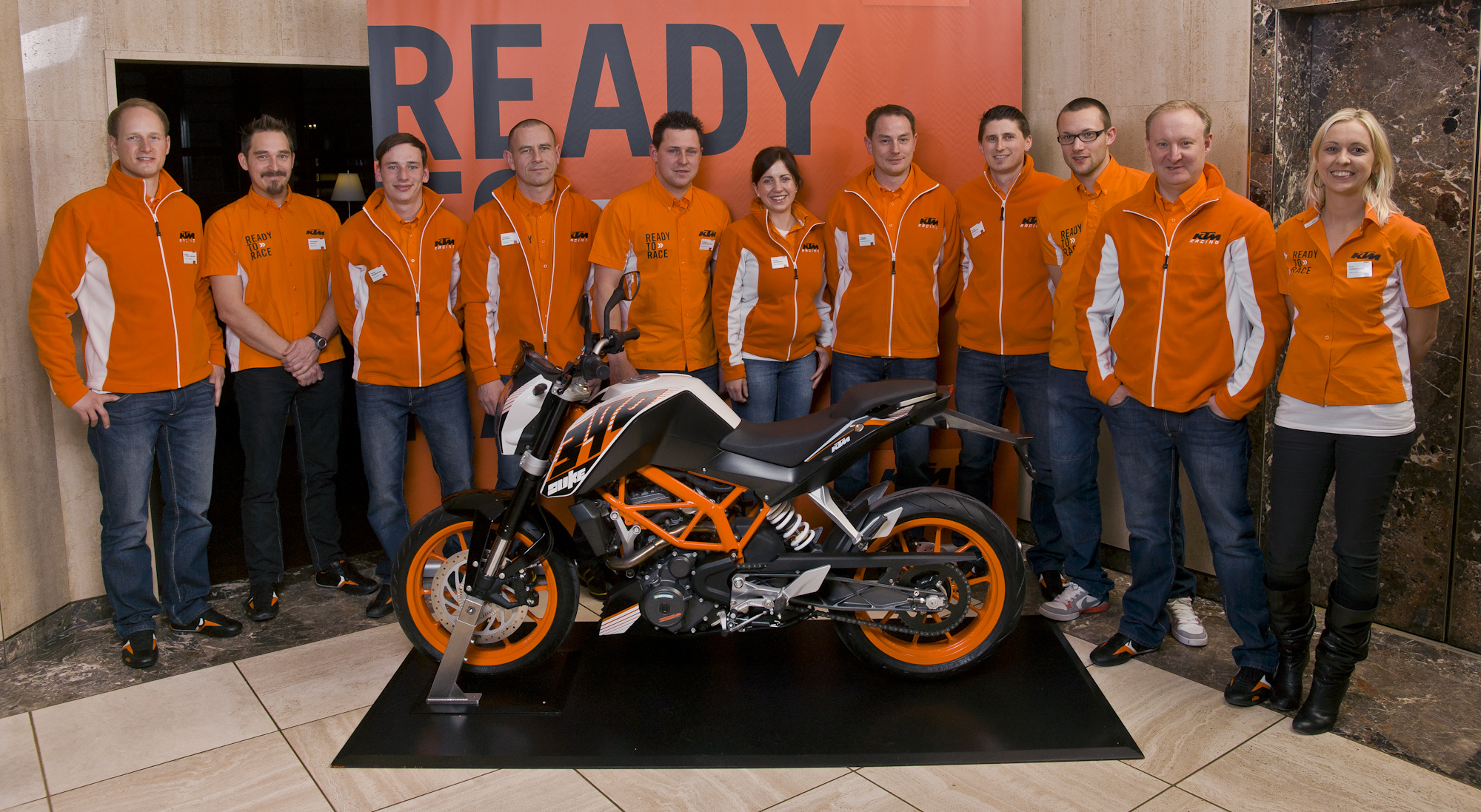 KTM 390 DUKE MY13 Press Launch – Salzburg (A) (© KTM)