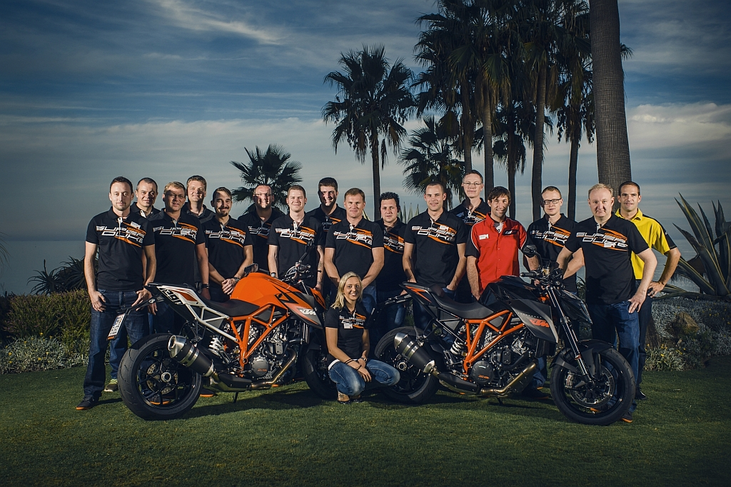 KTM 1290 SUPER DUKE R MY14 Press Launch – Ronda/Ascari (E) (© KTM)