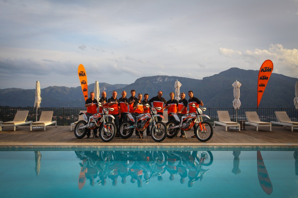 KTM FREERIDE 250 R / 350 MY14 Press Launch – Il Ciocco (I) (© KTM)