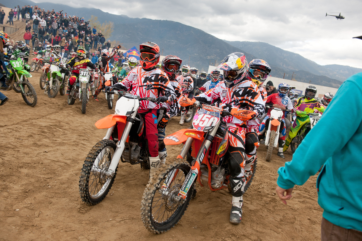 Kurt Caselli Memorial Ride at Glen Helen (© Steve Cox)