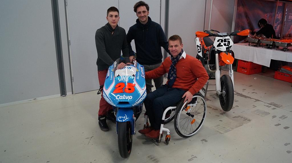 Maverick Viñales @KTM Racing (© KTM)