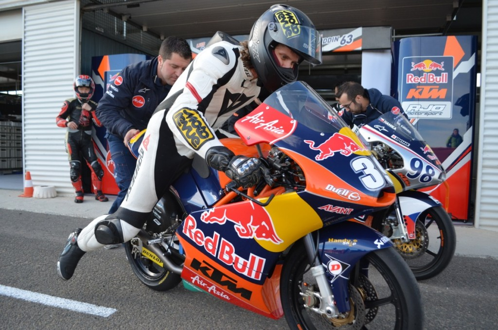 Moto3 Factory Bike Test Almeria (E)