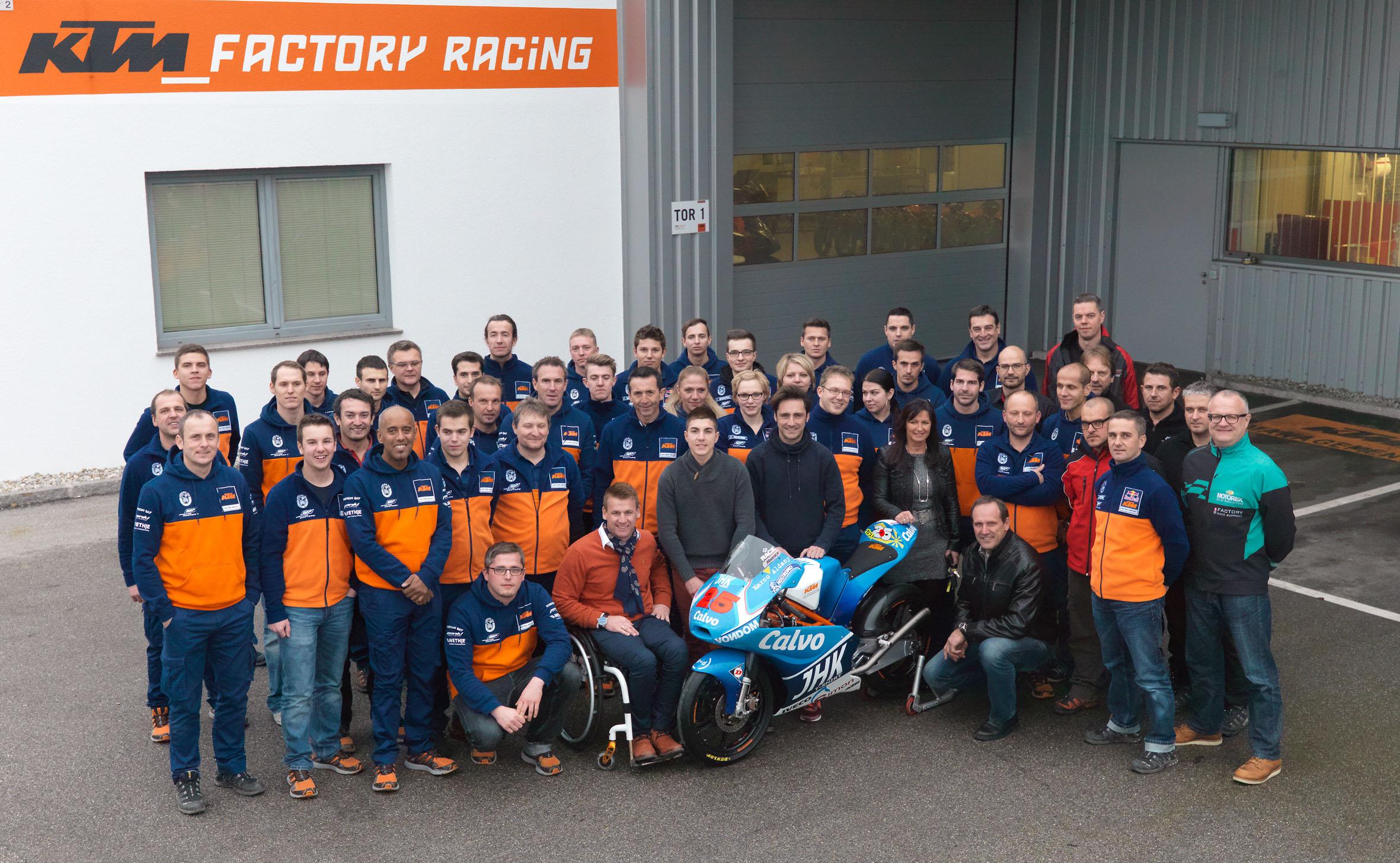 KTM Moto3 Team (© Heinz Mitterbauer)