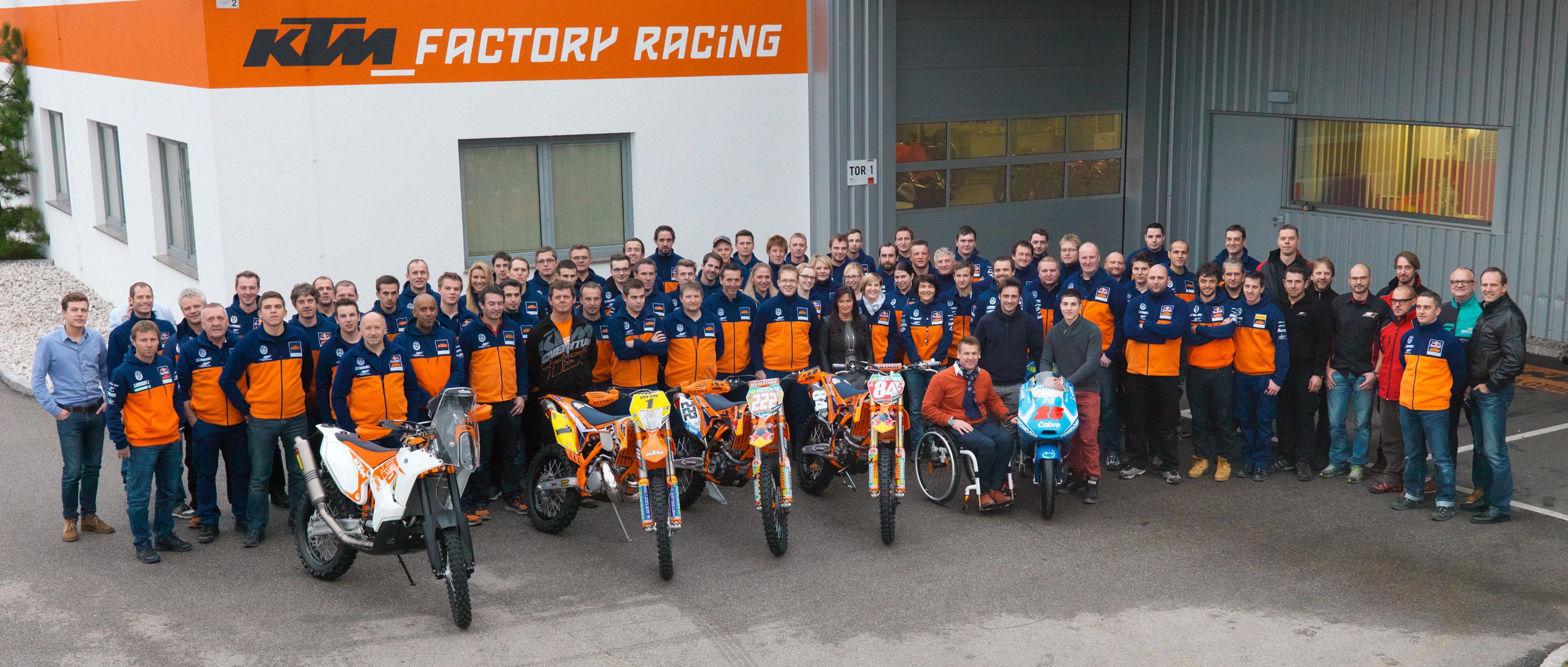 KTM Racing Team (© Heinz Mitterbauer)
