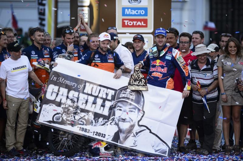 Red Bull KTM Rally Factory Team & Kurt Caselli (© Maragni M., ktmimages.com)
