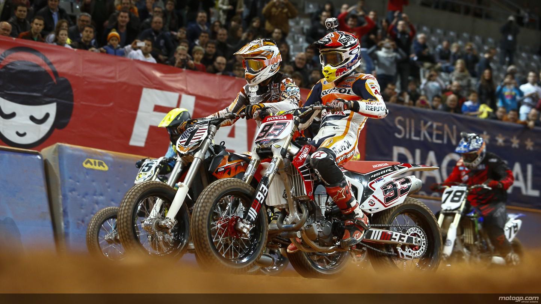 Brad Baker & Marc Marquez (© motogp.com)