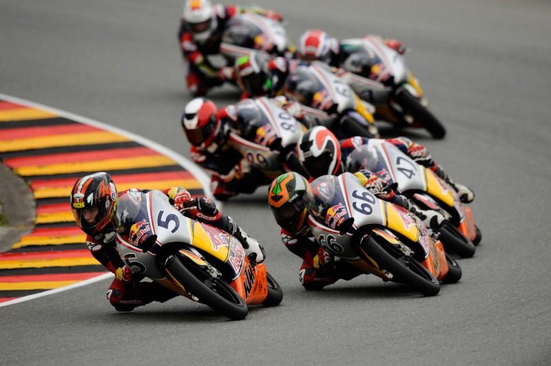 Philipp Oettl Red Bull MotoGP Rookies Cup 2011