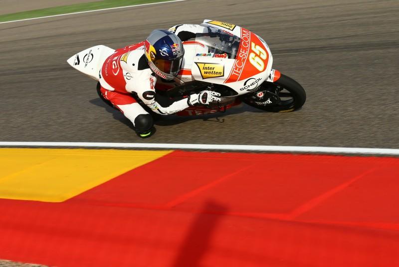 Philipp Öttl Moto3 Aragon 2013