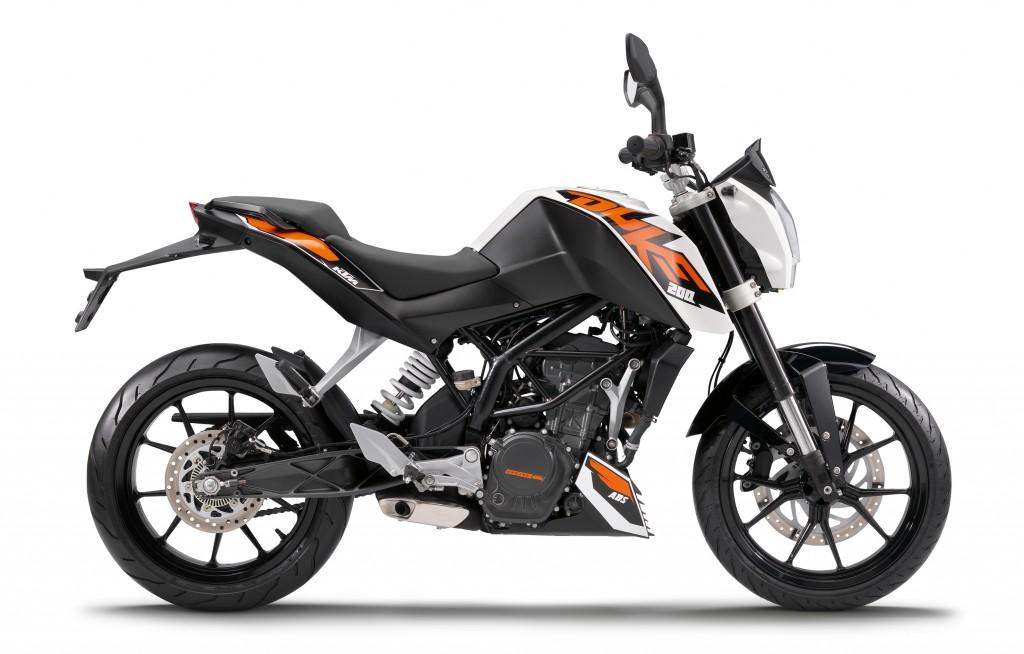 KTM 200 DUKE 2012