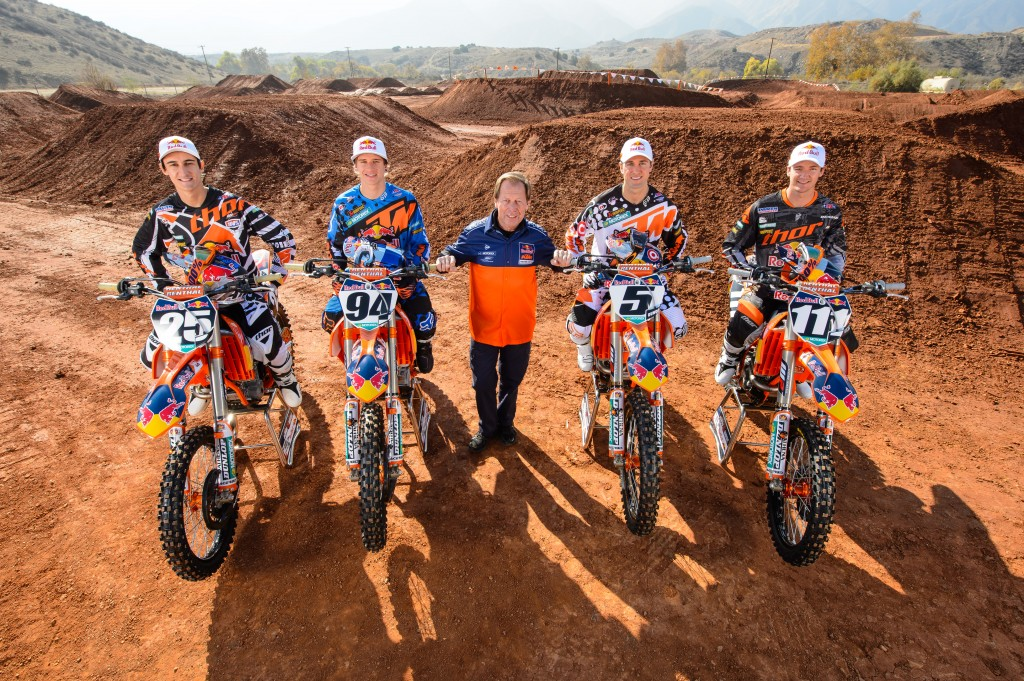 Roger De Coster & Red Bull KTM Supercross Factory Racing Team 2014
