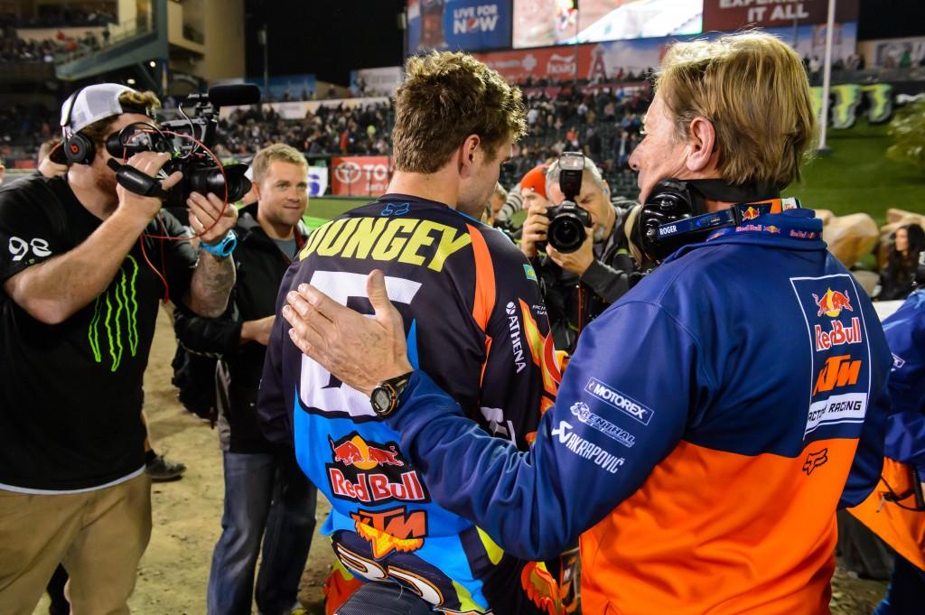 Roger De Coster & Ryan Dungey 2014