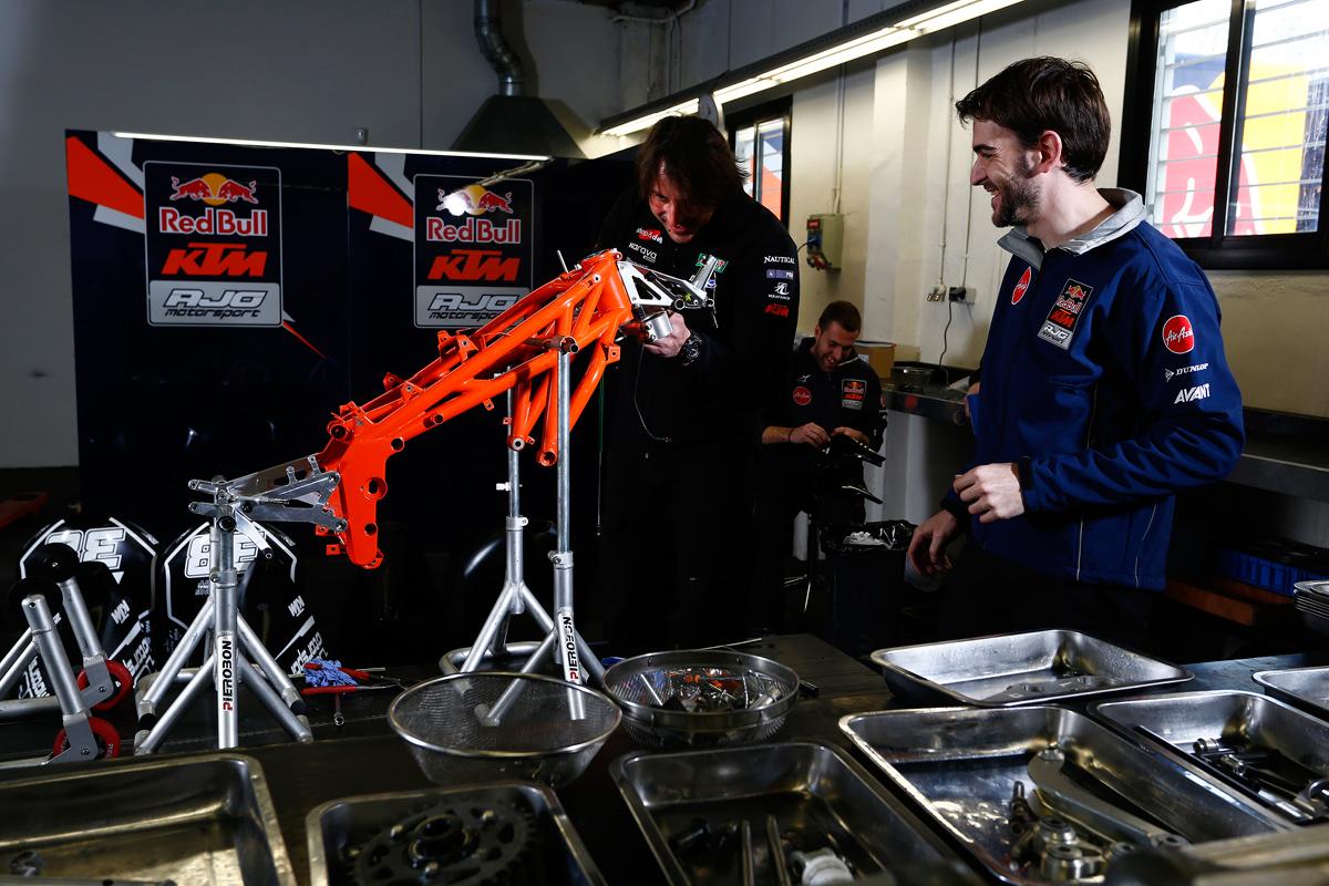 Red Bull KTM Ajo Barcelona 2014