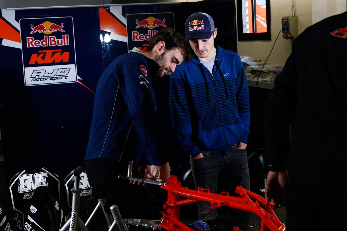 Jack Miller Red Bull KTM Ajo Barcelona 2014