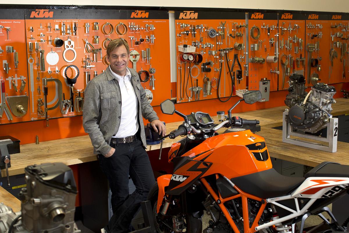 Jon-Erik Burleson & KTM 1290 SUPER DUKE R 2014