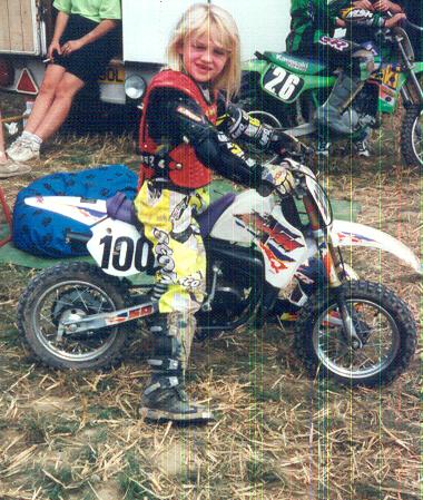 Aimee Fuller KTM 50 SX