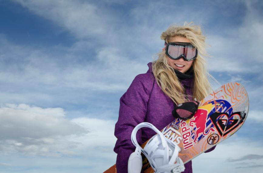 Aimee Fuller Snowboarding