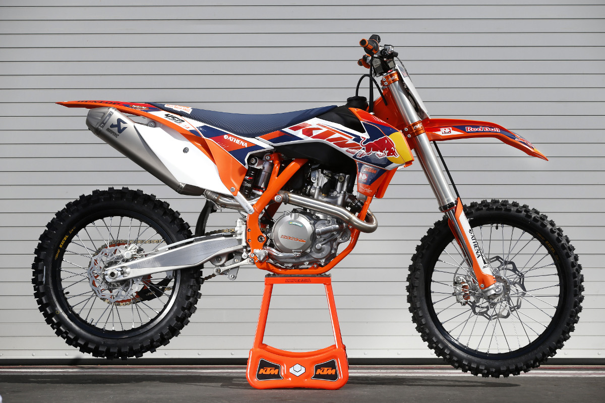My World : The newest and greatest 2014 KTM sx-f 450