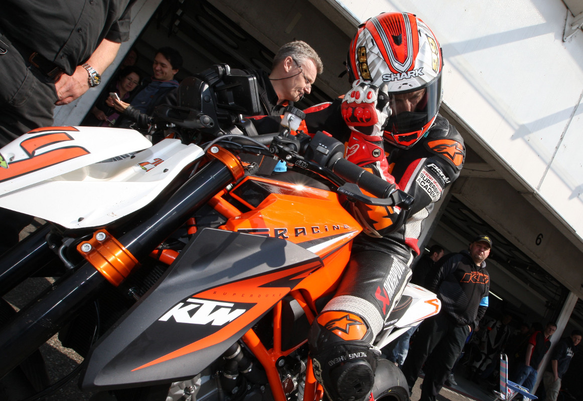 Jeremy McWilliams KTM 1290 SUPER DUKE R 1000km Hockenheim 2014