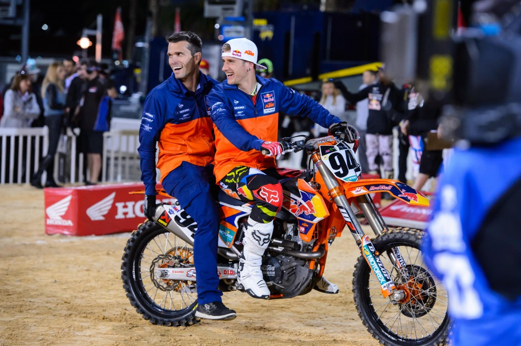 Kelly Lumgair & Ken Roczen KTM 450 SX-F Factory Edition