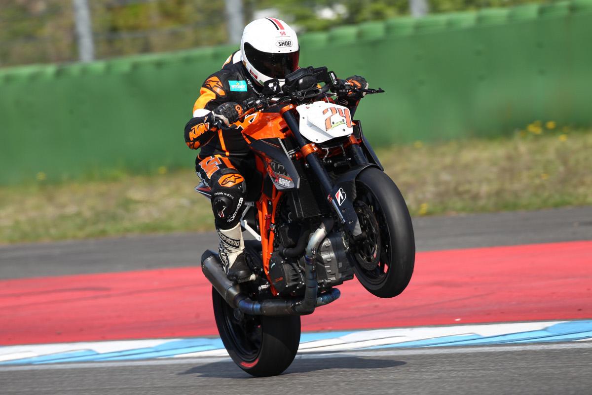 """Oliver """"Rakete"""" Schmidt KTM 1290 SUPER DUKE R 1000km Hockenheim 2014"""
