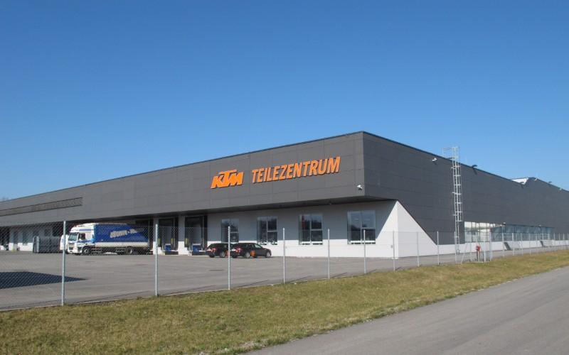 KTM Teilezentrum