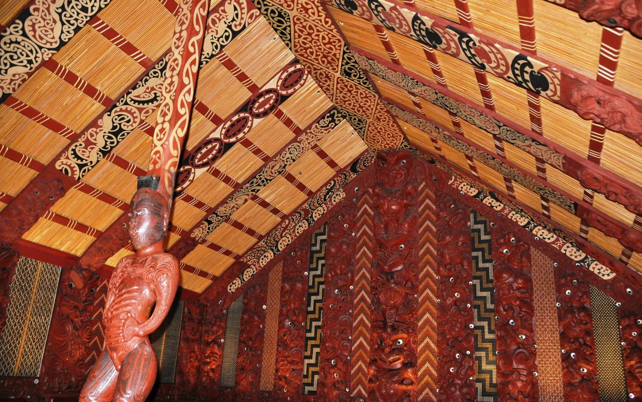 Maori Marae in