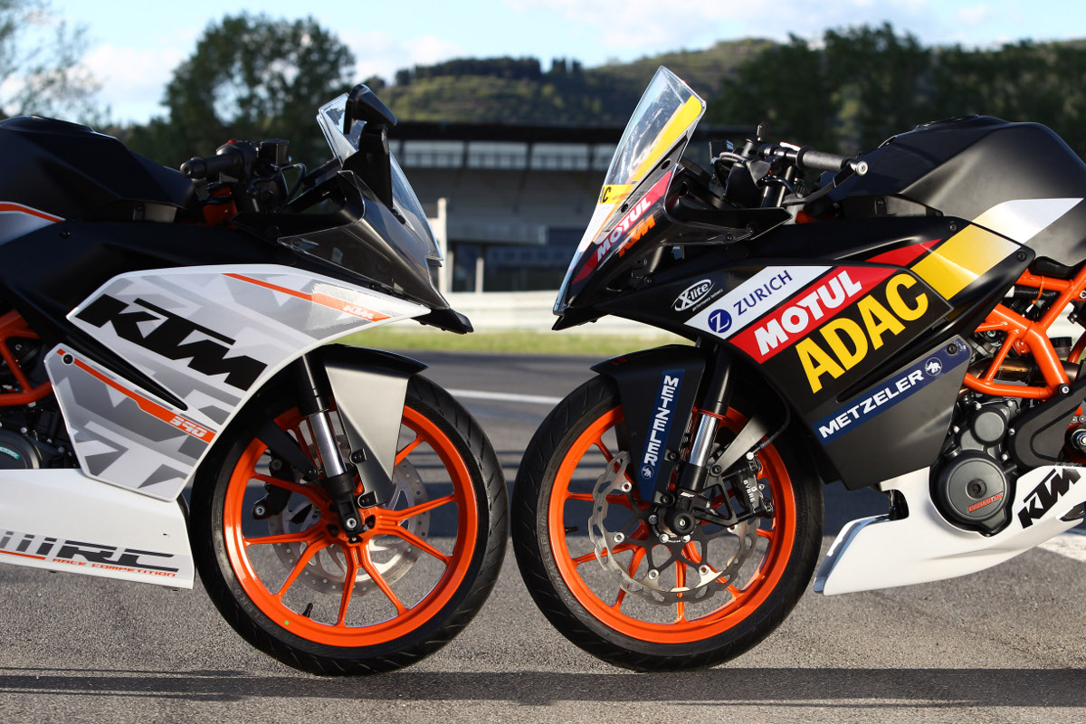 Adac Junior Cup Powered By Ktm Technique Of The Ktm Rc 390 Cup Ktm Blog