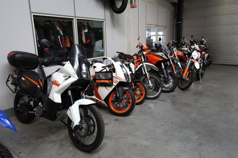 f Testfuhrpark Serienbikes