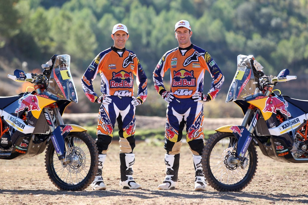 Red Bull KTM Rally Factory Racing Team 2014