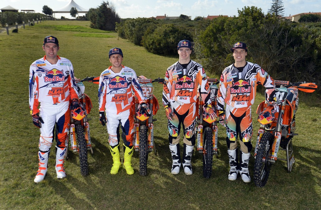 Red Bull KTM MX Factory Racing Team 2014