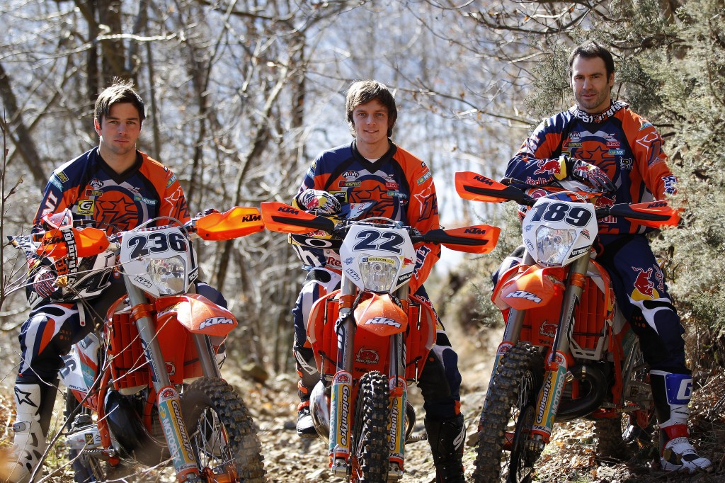 Red Bull KTM Extreme Enduro Factory Racing Team 2014
