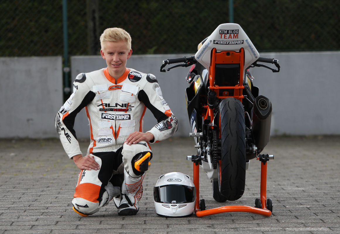 Tim Holz KTM RC 390 CUP
