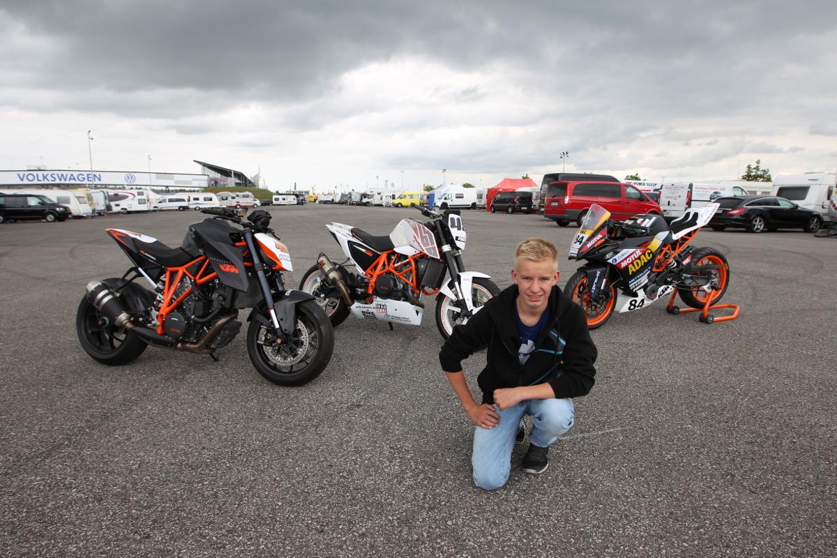 Tim Holtz, KTM 1290 SUPER DUKE R, 690 DUKE CUP & RC 390 CUP