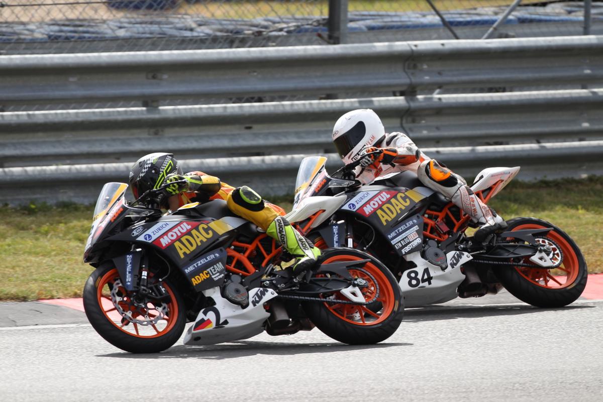 Tim Holtz KTM RC 390 CUP Oschersleben