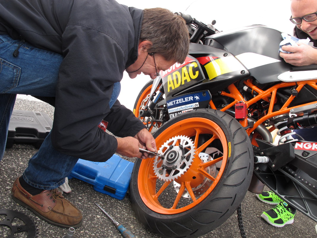 Tuning KTM RC 390 CUP