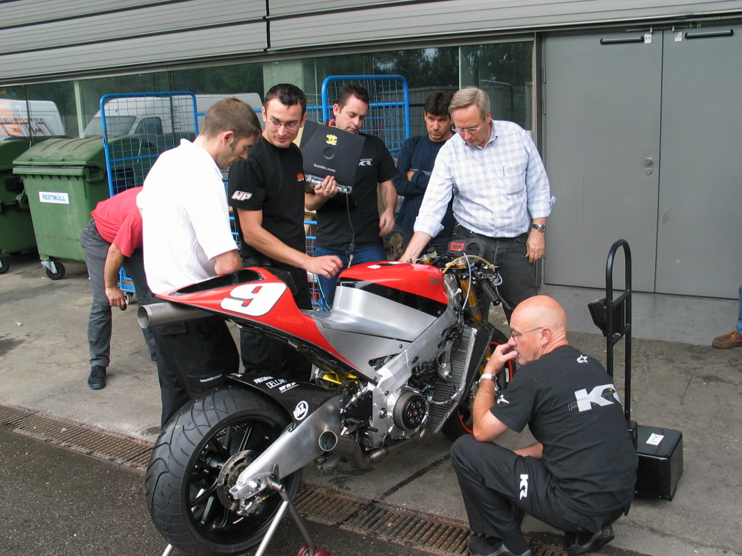 Proton-KR & KTM Staff Mattighofen 2004