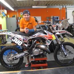 Bradley Cox KTM 125 SX