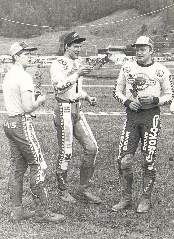 Brotherhood: Klaus, Heinz & Hansi Kinigadner