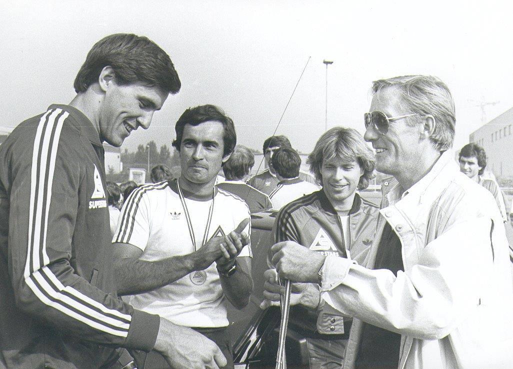 Österreich: Heinz Kinigadner, Franz Wittmann Senior, Hansi Hinterseer & Luggi Schmidtleitner