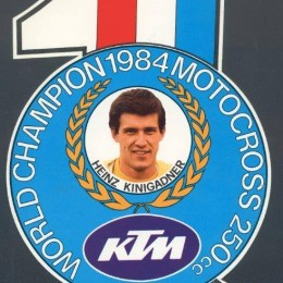 Heinz Kinigadner – World Champion 1984 Motocross 250cc